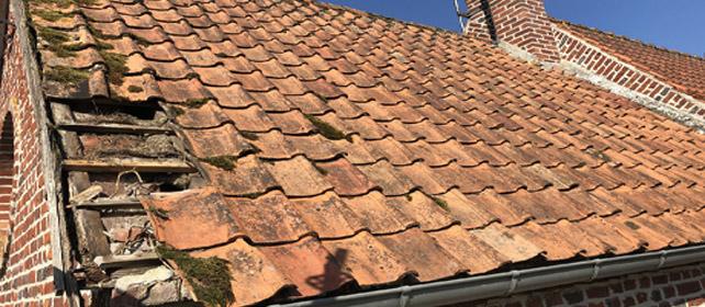 Réparation de toiture et bardage à Arras