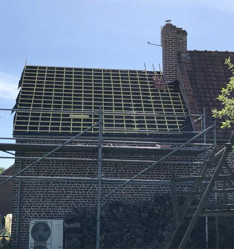 Service de dépannage pour toiture à Arras